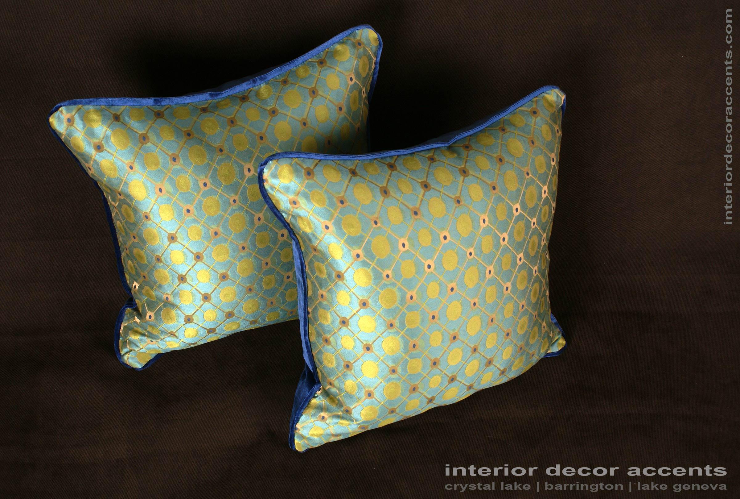 Silk Modern Decorative Pillows