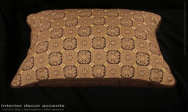 stroheim medalion brocade decorative designer pillows with italian linen strie kravet couture velvet for contemporary transitional and traditional interior design and home decor accents